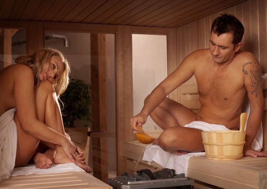 Sauna, to świetna metoda na wspólne spędzanie czasu...