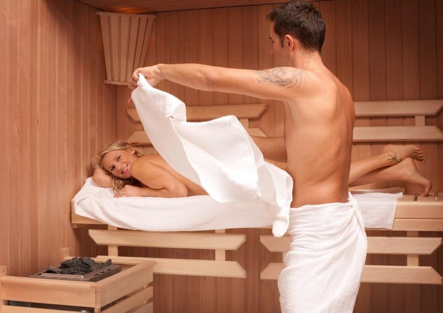 Nauczymy, jak korzystać z sauny...
