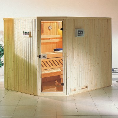 Sauna narożna - Megiw