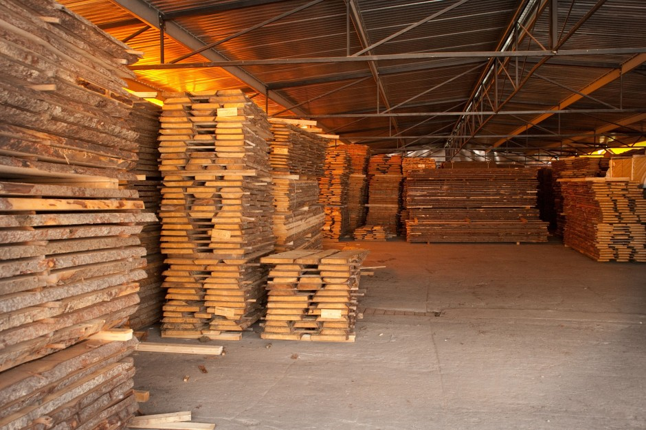 Składowanie drewna