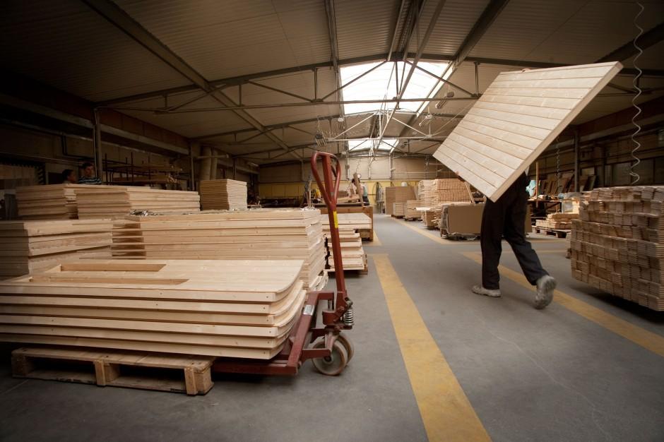 Elementy drewniane saun