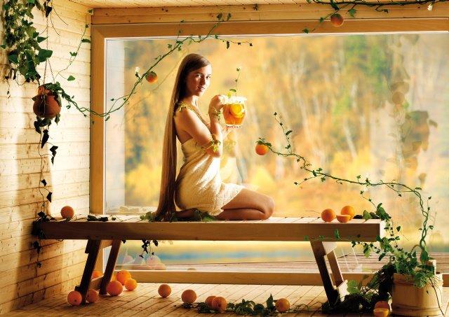 Poczuj zapach sauny... jesienia...