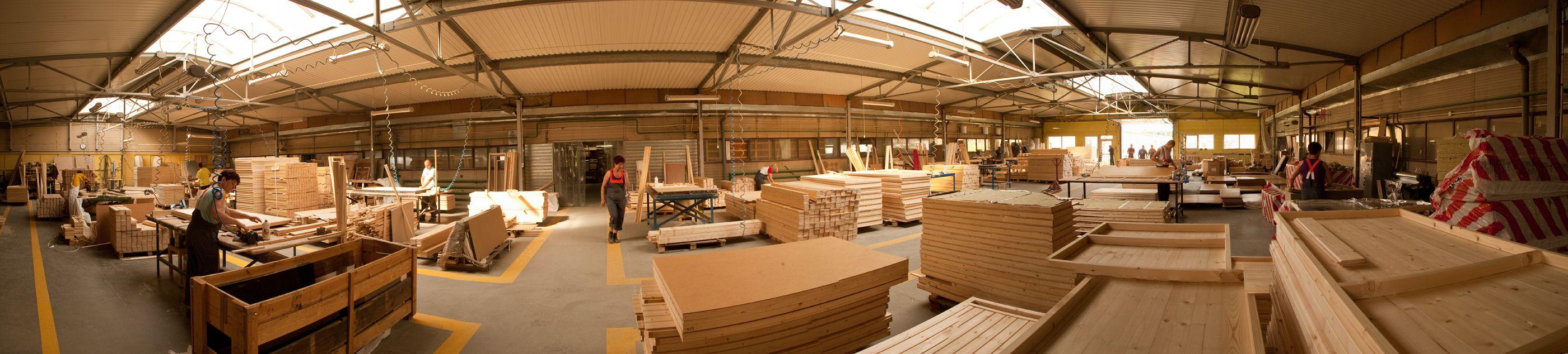 Zakład produkcyjny - hale